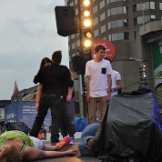 Spectacle sur la scène Loto Québec au festival juste pour rire 2015.